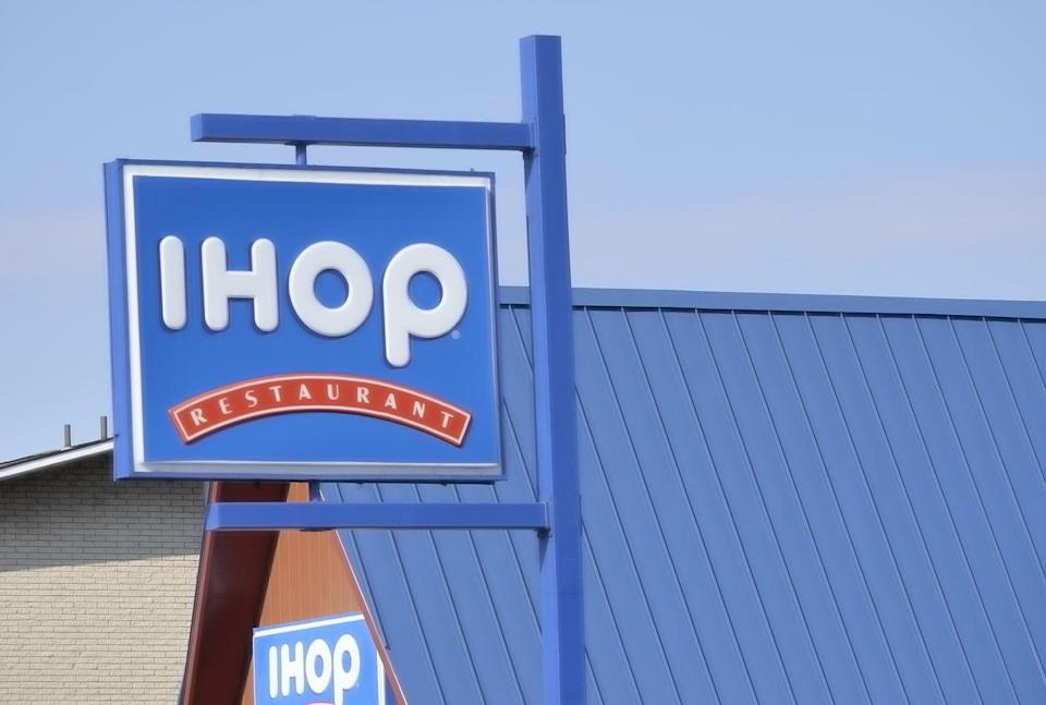 """<p>Fuel up with a plate of its famous short stack pancakes before your Christmas morning really gets started. Select <a href=""""https://www.ihop.com/en"""" rel=""""nofollow noopener"""" target=""""_blank"""" data-ylk=""""slk:IHOP locations"""" class=""""link rapid-noclick-resp"""">IHOP locations</a> have limited hours, so call before you go. </p>"""