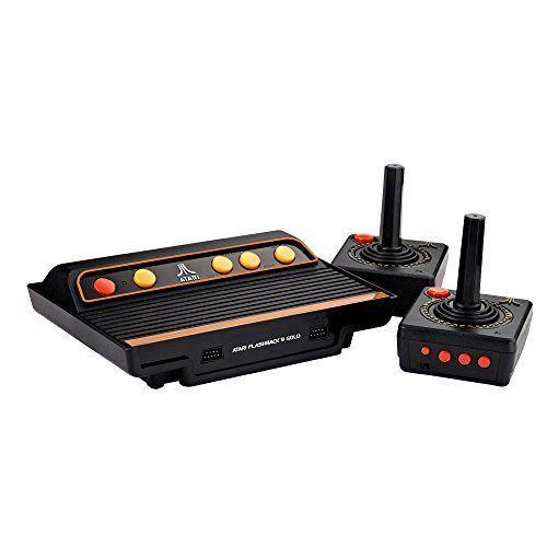 """<p><strong>Atari</strong></p><p>amazon.com</p><p><strong>$69.99</strong></p><p><a href=""""https://www.amazon.com/dp/B07FFT5FPK?tag=syn-yahoo-20&ascsubtag=%5Bartid%7C10065.g.1290%5Bsrc%7Cyahoo-us"""" rel=""""nofollow noopener"""" target=""""_blank"""" data-ylk=""""slk:Shop Now"""" class=""""link rapid-noclick-resp"""">Shop Now</a></p><p>On a list of his favorite things, gaming is second only to you. An old-school Atari will bring out his nostalgia and doubles as a fun-as-hell date night.</p>"""