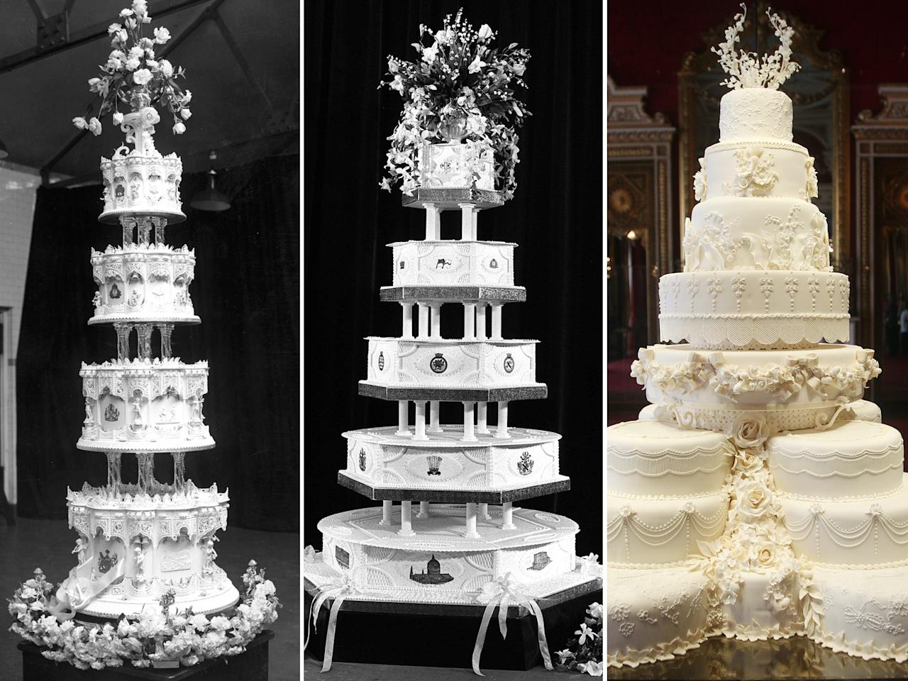 a wedding cake weighed 8 kg 7 things all royal weddings in common 10982
