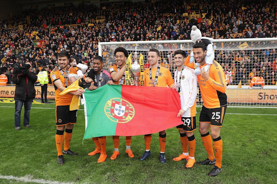 That Wolves have a strong Portuguese contingent is no coincidence. (Getty)