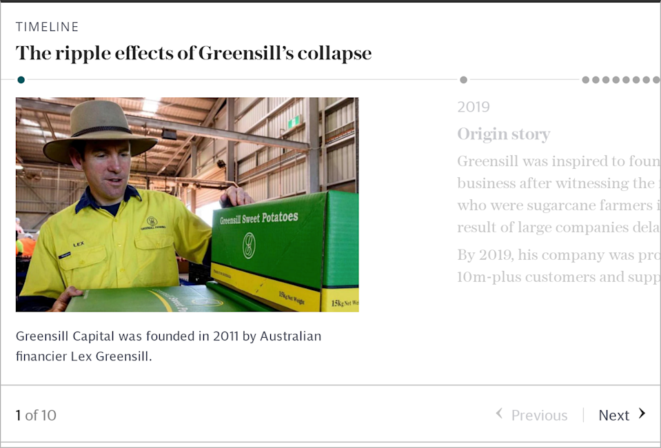 Timeline: Greensill collapse