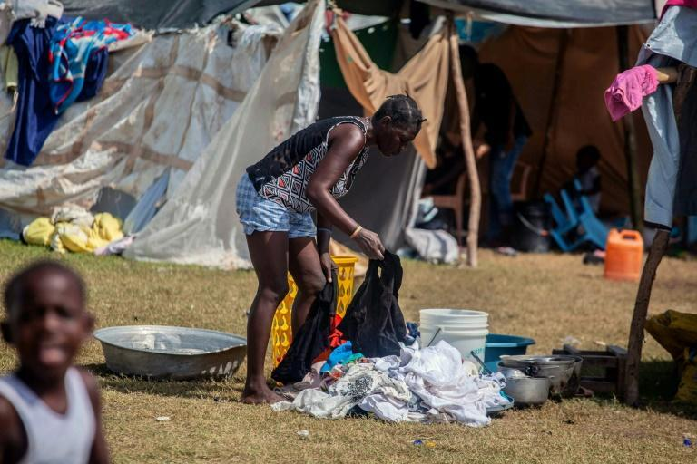 Survivors of Haiti's deadly August quake are left wondering if they will be attacked in the camps where they have taken shelter