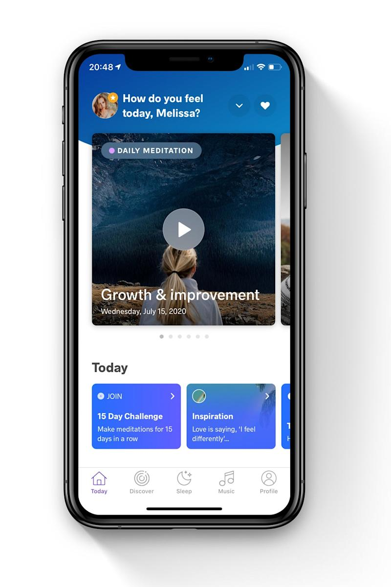 The app offers mental coaching to people across the globe (Meditopia )