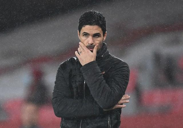 Arteta has seen his side lose five of their opening 10 Premier League games this season.