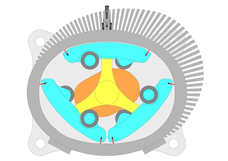 The Rhombus Rotary Engine: Can a Quirky New Design Top the