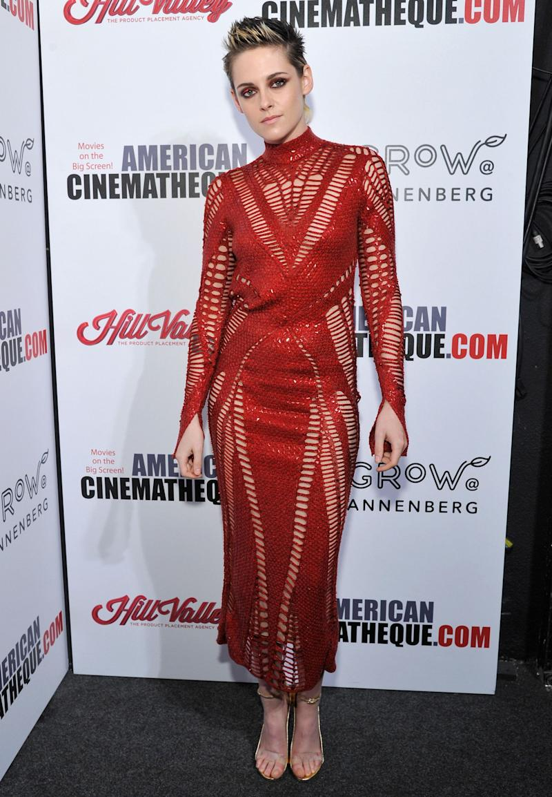 Wearinga Julien Macdonald dress at the 31st American Cinematheque Award Presentation Honoring Amy Adams Presented at the Beverly Hilton hotel on Nov. 10, 2017, in Beverly Hills, California.