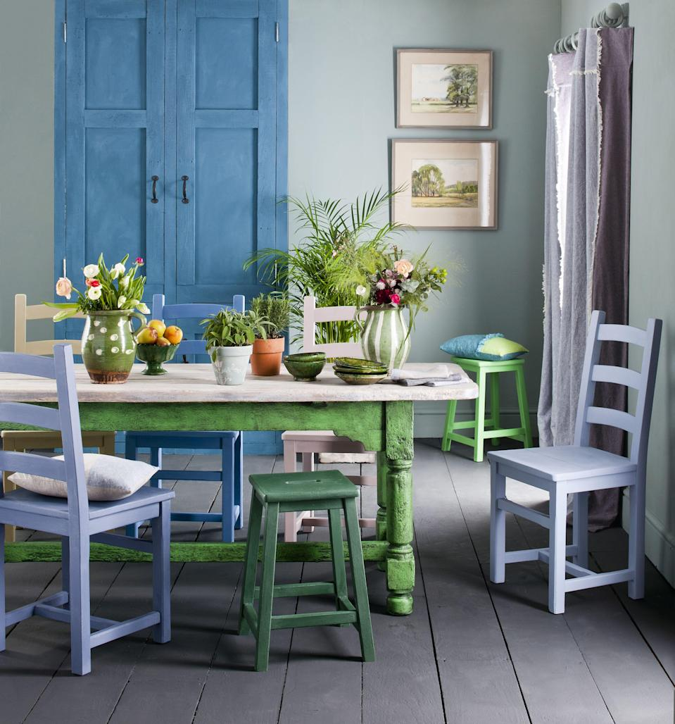 """<p>A fresh coat of paint is the easiest way to spruce up your space without having to make a hefty investment. To get all the details you need to start your home painting project, check out <a href=""""https://www.countryliving.com/home-design/color/a30284538/how-to-paint-a-room/"""" rel=""""nofollow noopener"""" target=""""_blank"""" data-ylk=""""slk:our ultimate guide to painting your interiors"""" class=""""link rapid-noclick-resp"""">our ultimate guide to painting your interiors</a>. If you're looking to create a quiet and cozy atmosphere with your <a href=""""https://www.countryliving.com/home-design/color/a30173089/best-paint-colors-for-bedrooms/"""" rel=""""nofollow noopener"""" target=""""_blank"""" data-ylk=""""slk:bedroom paint colors"""" class=""""link rapid-noclick-resp"""">bedroom paint colors</a>, we recommend one of these <a href=""""https://www.countryliving.com/home-design/color/a30140287/best-neutral-paint-colors/"""" rel=""""nofollow noopener"""" target=""""_blank"""" data-ylk=""""slk:best neutral paint colors"""" class=""""link rapid-noclick-resp"""">best neutral paint colors</a>. Or maybe you want to try out one of these <a href=""""https://www.countryliving.com/home-design/decorating-ideas/a29873107/best-yellow-paint-colors/"""" rel=""""nofollow noopener"""" target=""""_blank"""" data-ylk=""""slk:best yellow paint colors"""" class=""""link rapid-noclick-resp"""">best yellow paint colors</a> for one of your <a href=""""https://www.countryliving.com/home-design/color/a30282243/best-bathroom-paint-colors/"""" rel=""""nofollow noopener"""" target=""""_blank"""" data-ylk=""""slk:bathroom paint colors"""" class=""""link rapid-noclick-resp"""">bathroom paint colors</a>? Testing out a bold color like yellow in a half bathroom is a safe bet, because yellow is one of the <a href=""""https://www.countryliving.com/home-design/color/g1343/paint-colors-small-rooms/"""" rel=""""nofollow noopener"""" target=""""_blank"""" data-ylk=""""slk:best paint colors for small spaces"""" class=""""link rapid-noclick-resp"""">best paint colors for small spaces</a>.<br> <br>If you're not ready to commit to painting your walls, you can still update y"""