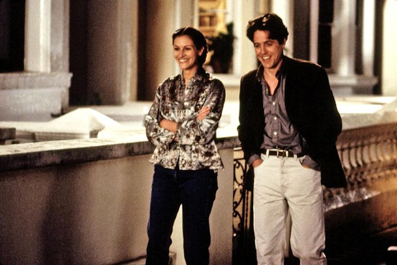 Julia Roberts and Hugh Grant in Notting Hill | MCA/Everett Collection