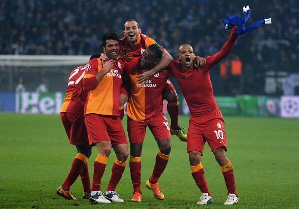 FC Schalke 04 v Galatasaray AS - UEFA Champions League Round of 16