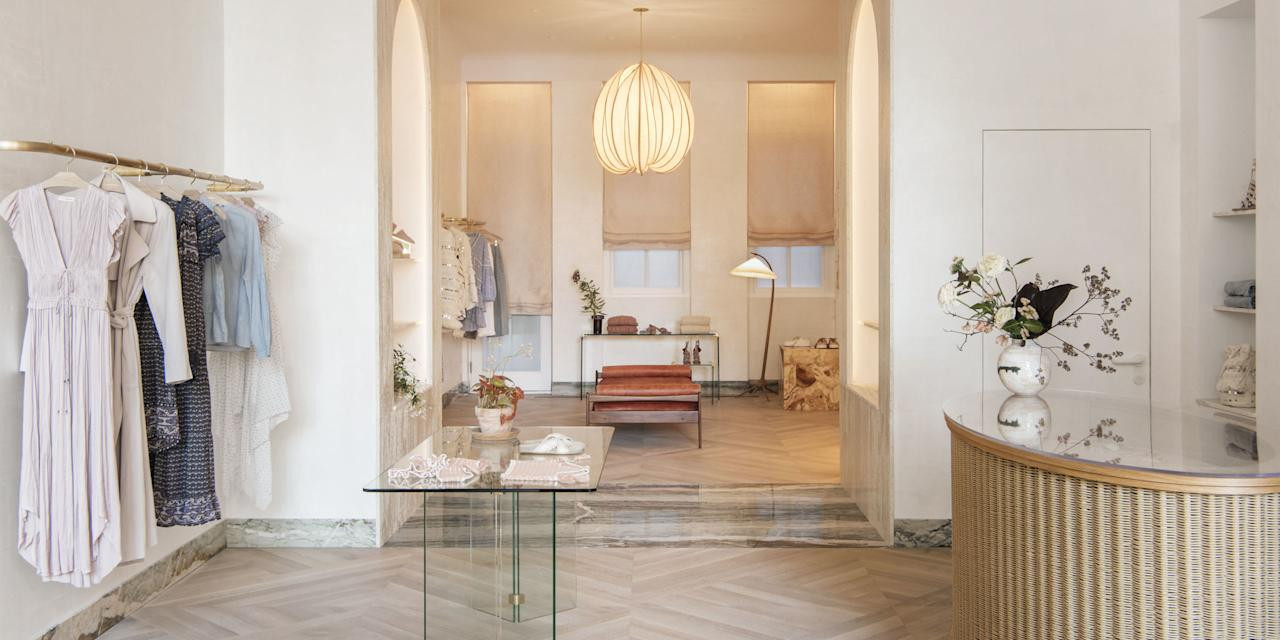 <p>Welcome to the designer's chic new NYC digs…</p>