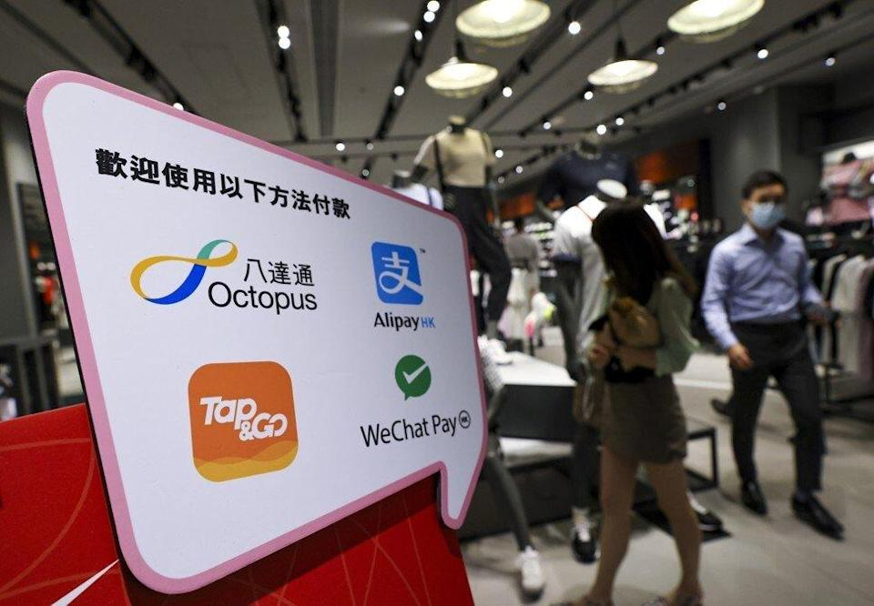 Tap & Go said on Monday at noon that it had identified the cause of the technical issues it was having. Photo: May Tse