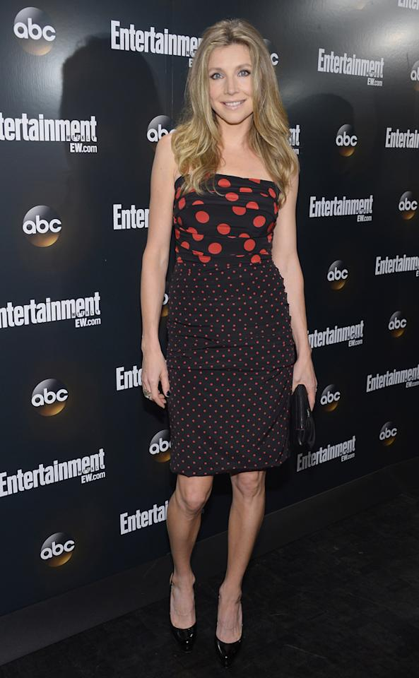 """Sarah Chalke (""""How to Live With Your Parents for the Rest of Your Life"""") attends the Entertainment Weekly and ABC Upfront VIP Party at Dream Downtown on May 15, 2012 in New York City."""