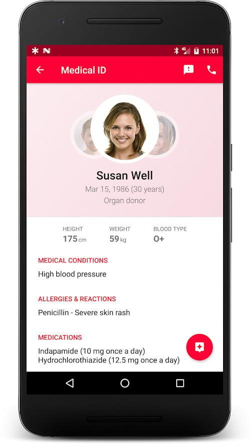 the best emergency apps for ios and android medical id app information 1