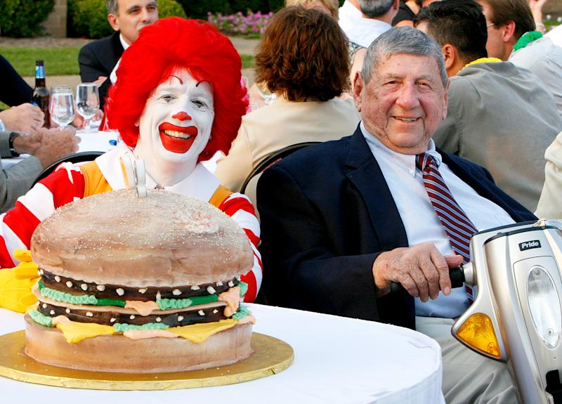 McDonald's Franchisee Who Invented the Big Mac, Michael 'Jim' Delligatti, Dies at 98