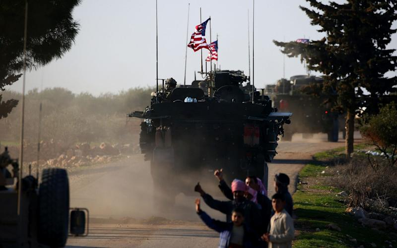 The White House has decided to pull the 2,000 US troops out of Syria - AFP
