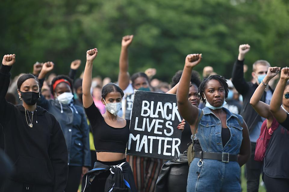 <p>The Black Lives Matter movement has provided a global platform that needs to be built upon</p> (AFP via Getty Images)