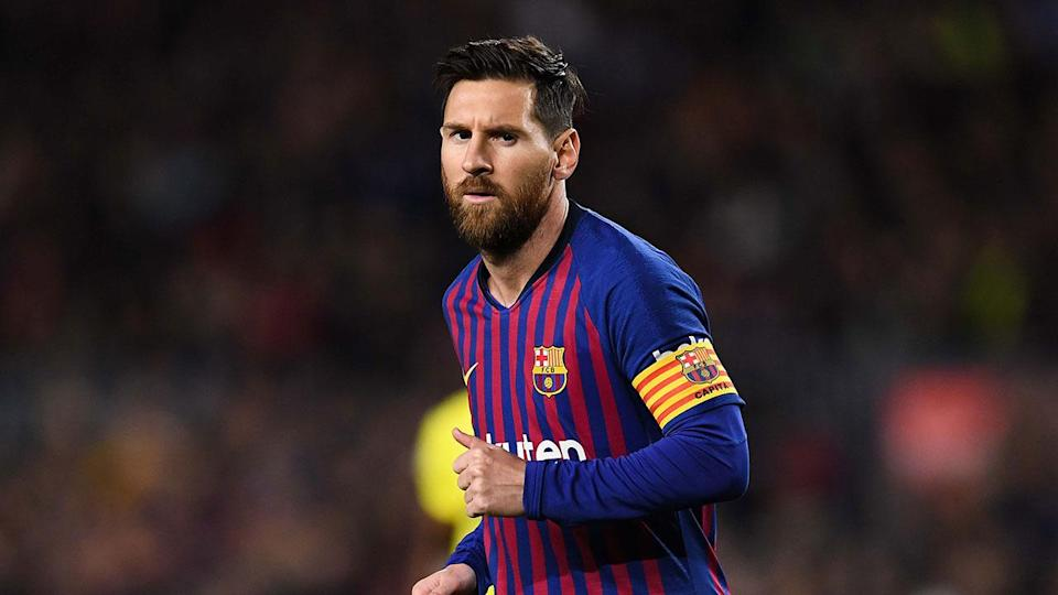 Messi missed out on the top three for the first time since 2007. Pic: Getty