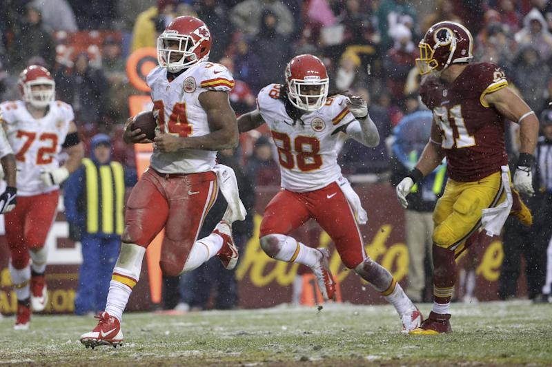 Chiefs thump Redskins 45-10 to break 3-game skid