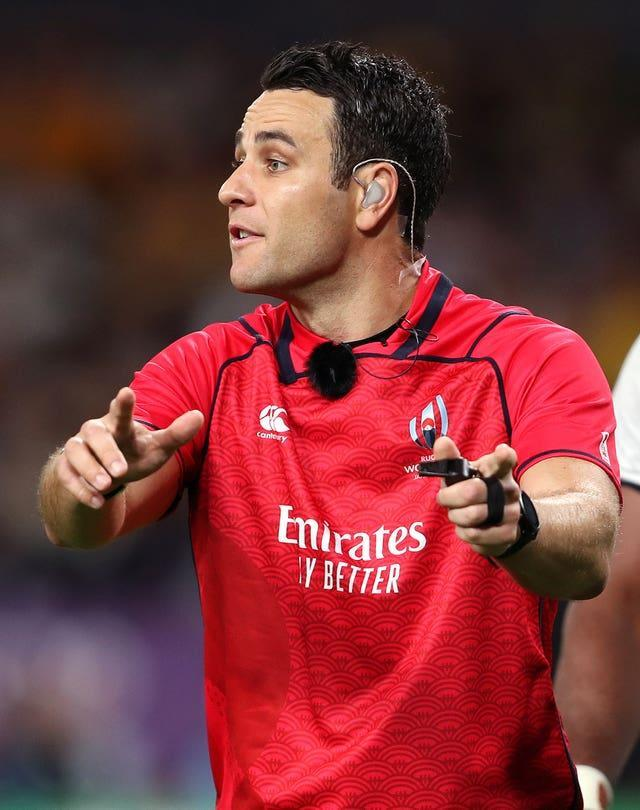 Referee Ben O'Keeffe has been the subject of a charm offensive from the Lions