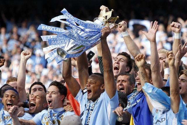 Manchester City became Premier League champions for the first time in 2012, four years after being taken over by the Abu Dhabi United Group