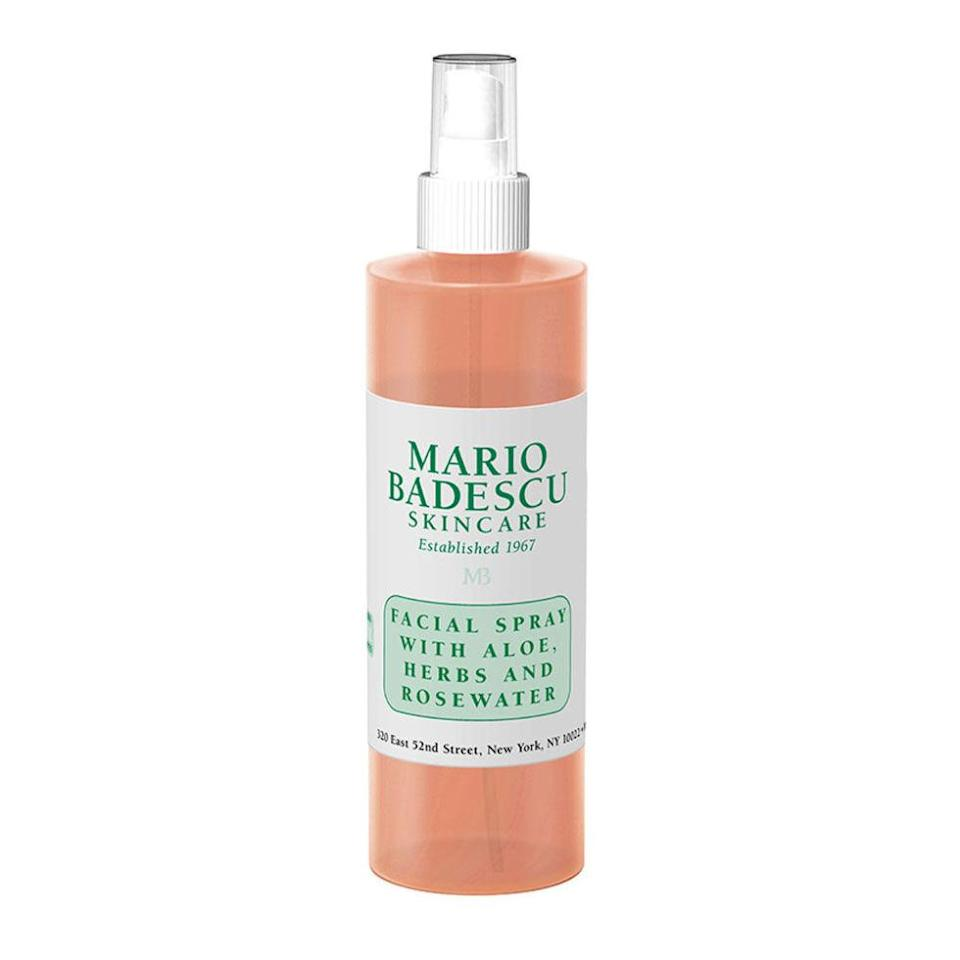 """<p>At just $7, this little bottle of refreshing rose spray is a daily indulgence that won't break the bank. ($7; <a href=""""http://www.ulta.com/facial-spray-with-aloe-herb-rosewater?productId=xlsImpprod6200727"""" rel=""""nofollow noopener"""" target=""""_blank"""" data-ylk=""""slk:ulta.com"""" class=""""link rapid-noclick-resp"""">ulta.com</a>)</p>"""