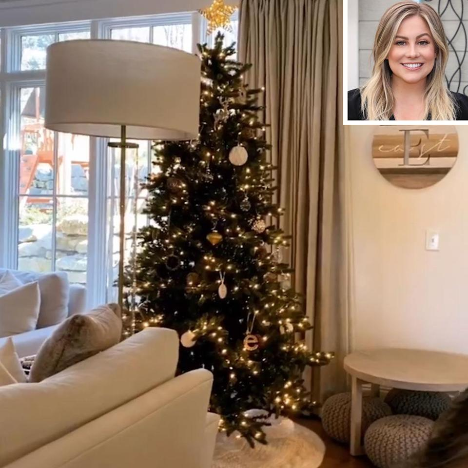 "<p>The former Olympian and entrepreneur not only put up a tree,<a href=""https://www.instagram.com/p/CHk3sKNBAM9/"" rel=""nofollow noopener"" target=""_blank"" data-ylk=""slk:she also got her whole family into their Christmas jammies"" class=""link rapid-noclick-resp""> she also got her whole family into their Christmas jammies</a>. </p>"