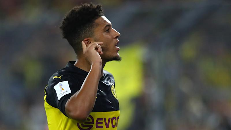 Sancho had no intention of joining Man Utd in the summer, says Dortmund sporting director