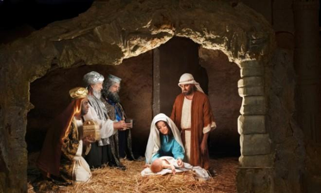 "Jesus probably wasn't born in a manger, but in ""the main living room of a peasant house, where animals are brought in at night."""