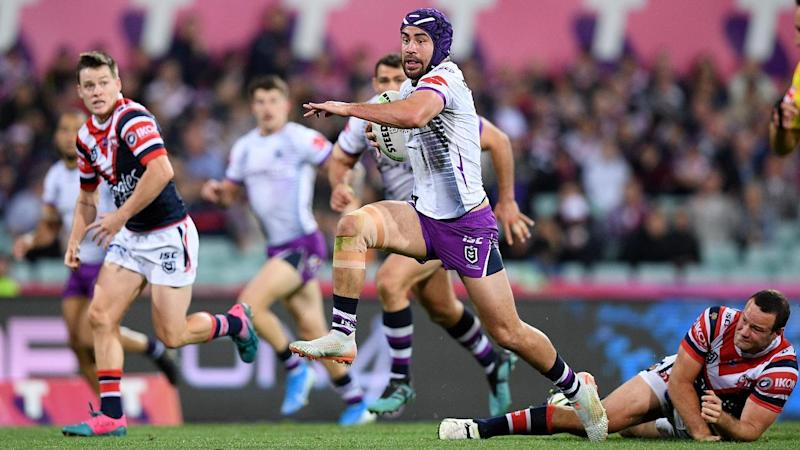 NRL ROOSTERS STORM Hughes