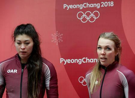 Olympics - Russian bobsledder Sergeeva admits anti-doping violation: CAS