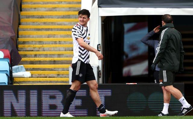 Harry Maguire is another player whose fitness will be assessed
