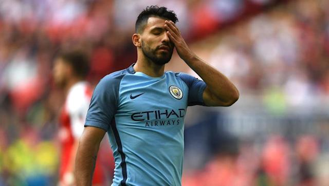 <p>He may not have been able to help City to avoid defeat, but Sergio Aguero showed Pep Guardiola why he is still the main man at the Etihad. </p> <br><p>After feeding on scraps for most of the game, he took his chance when called upon - dinking a delicate chip over Petr Cech to put the Citizens ahead in the second half.</p>