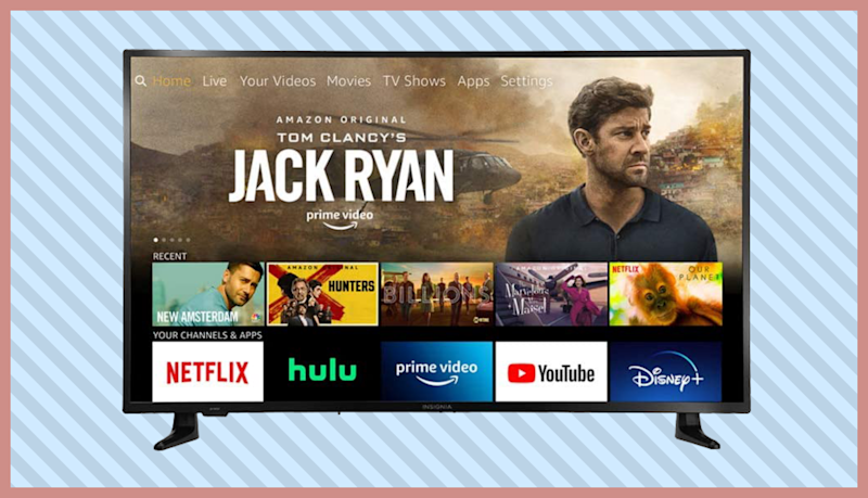 Save $100 on this Insignia 50-inch Smart 4K UHD—Fire TV Edition. (Photo: Amazon)