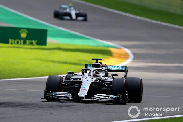 """Lewis Hamilton, Mercedes AMG F1 W10 <span class=""""copyright"""">Jerry Andre / Sutton Images</span>"""