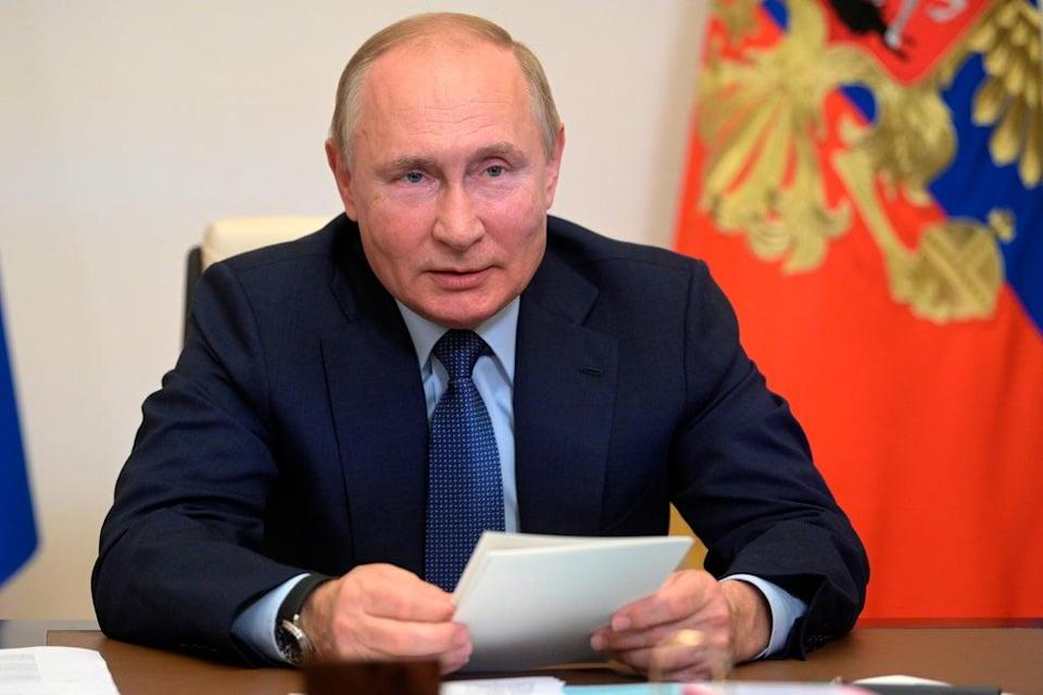 Gas prices eased after Russian President Vladimir Putin agreed to pump more supply to Europe (AP)