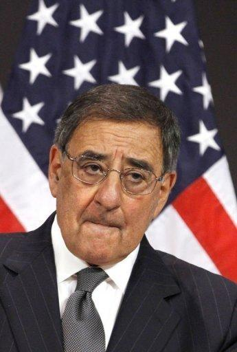 "US Defense Secretary Leon Panetta said the photos of US soldiers posing with dead Afghan insurgents were ""reprehensible"" but also said the administration was ""very disappointed"" that the Los Angeles Times decided to publish them"