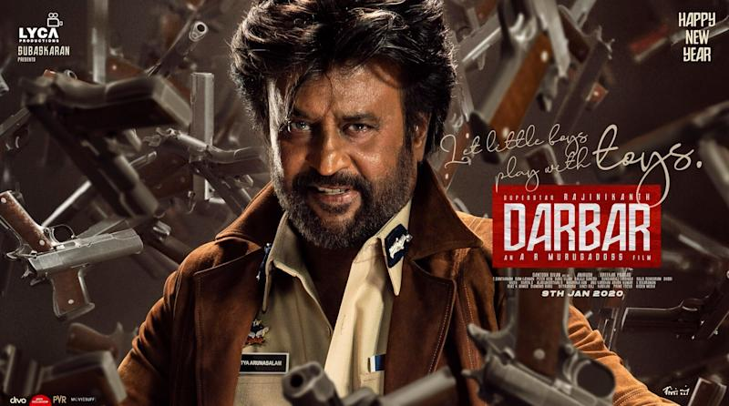 Darbar poster. (Photo: HuffPost India )