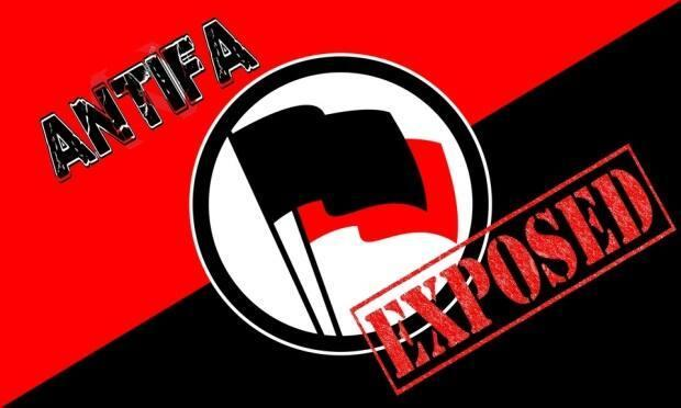 The logo for the blog Antifa:Exposed. A Nova Scotia couple say the blog has posted disparaging and harassing comments about them.
