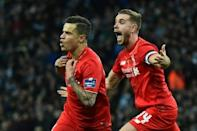 Liverpool and Man City go to extra time in League Cup final