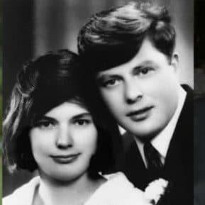 Melania's sister, Ines, shared a picture of their parents in 1967 on Facebook - Credit: Ines Knauss, Facebook