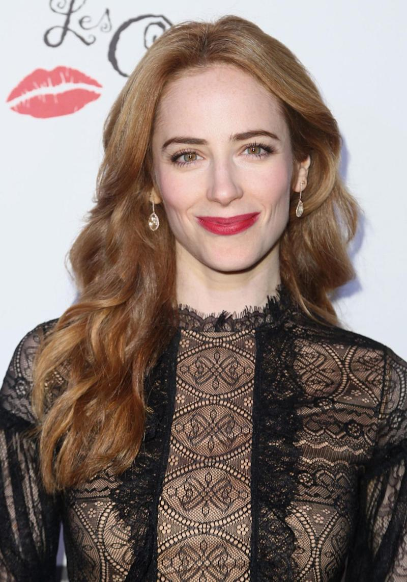 Jaime Ray Newman (pictured here last month) told the outlet when she met Ratner on a flight back in 2005 he started to describe sexual acts he wanted to do to the actress. Source: Getty
