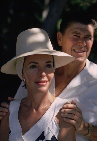 <p>Famed photographer Slim Aarons captured the Reagans—Ronald was governor of California at the time—while the pair vacationed in Acapulco, Mexico. </p>
