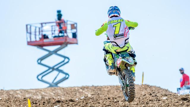 See the true speeds of the 450 class racers at the 2018 High Point Motocross, round four of the 2018 Lucas Oil Pro Motocross Championship.