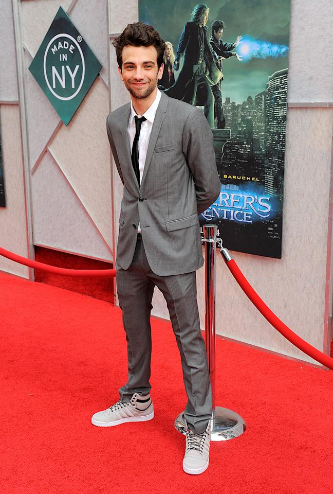 "<a href=""http://movies.yahoo.com/movie/contributor/1807480083"">Jay Baruchel</a> at the New York City premiere of <a href=""http://movies.yahoo.com/movie/1810073953/info"">The Sorcerer's Apprentice</a> - 07/06/2010"
