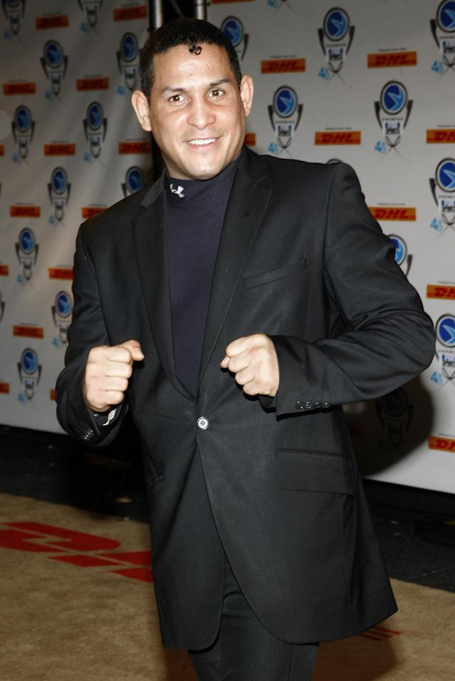 Hector Camacho during 4th Annual Premios Fox Sports Awards - Arrivals at Jackie Gleason Theater for the Performing Arts in South Beach, Florida, United States. (Photo by John Parra/WireImage)