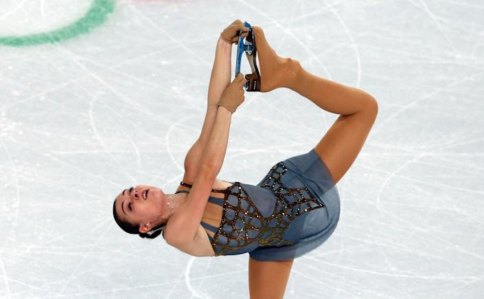 Russia's Adelina Sotnikova performs in the Women's Figure Skating Free Program at the Iceberg Skating Palace on Feb. 20, 2014.