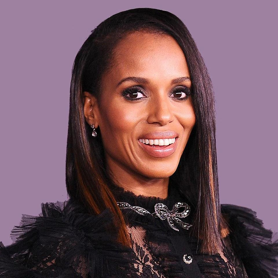 Another case for highlights! In Kerry Washington's case, her caramel ends add extra depth and definition.