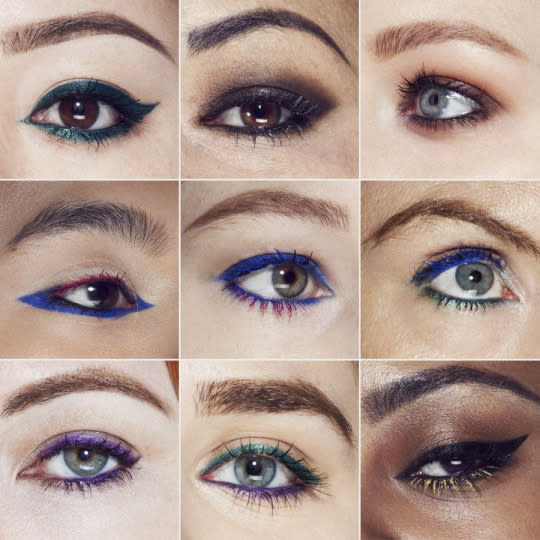 ca1c6310eba 9 People Tried YSL's New Colored Mascara and the Results Are Pretty Stunning