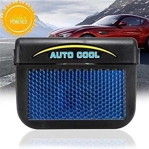 <p>This <span>Qiyun Solar Powered Auto Air Vent Cooling Fan</span> ($25) helps to get your car colder faster.</p>