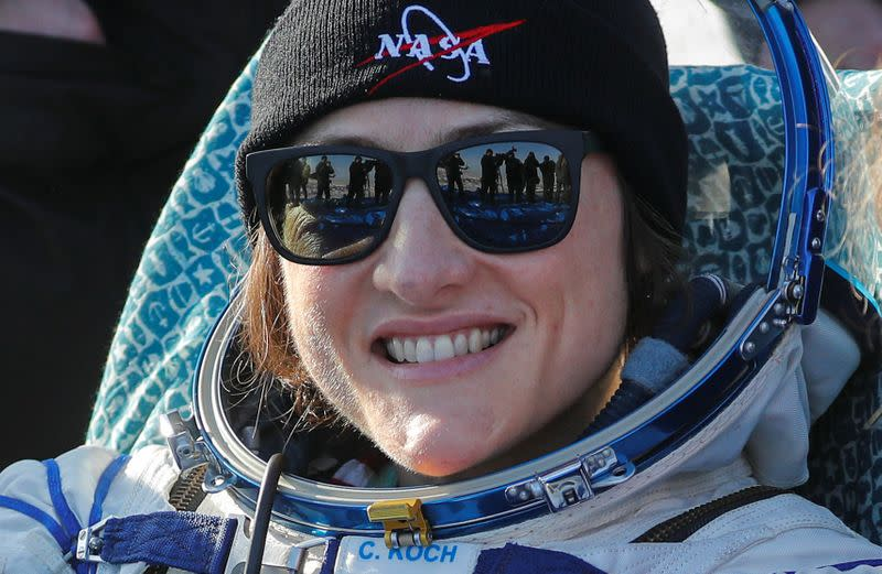 Love story - Video of U.S. astronaut reuniting with her dog goes viral